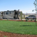 Standard Back In RV Sites Patio Grass Yanks RV Resort Greenfield CA