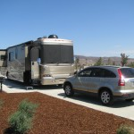 Close Up Premium Pull Thru RV Site 100FT Yanks RV Resort