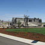 Side View Premium Pull Thru RV Site 100FT Yanks RV Resort