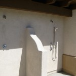 Pool showers Yanks RV Resort California